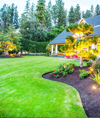 Canton, Ohio Mulch Landscaping
